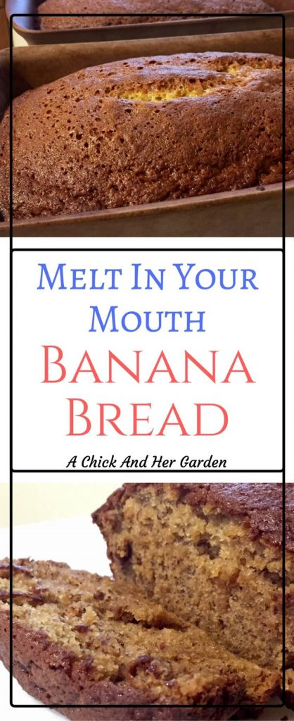 This is seriously the Best banana bread recipe you'll ever make!