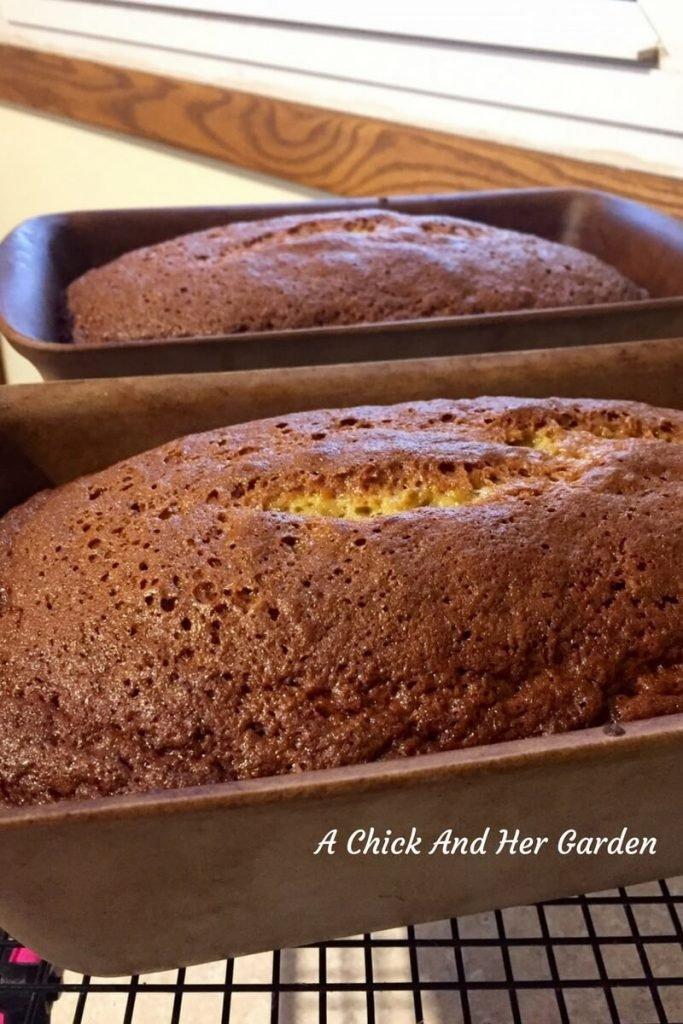 "Banana bread, ""So good, you don't need butter!"""