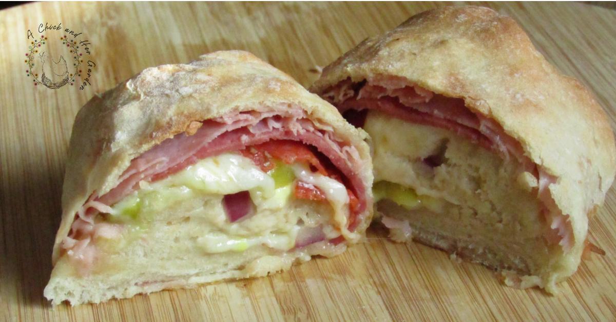 Italian Stromboli ~ From Dough To Dinner