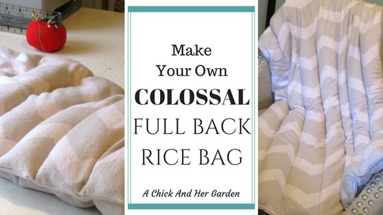 The Colossal Full Back Rice Bag