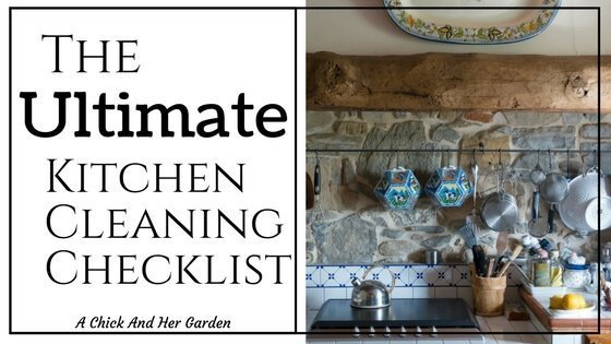 The Ultimate Nursery Decorating Checklist: The Ultimate Kitchen Cleaning Checklist