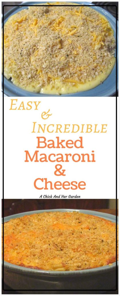 I'll admit I've put boxed macaroni and cheese on my table. But with this macaroni and cheese recipe I have no more excuses!