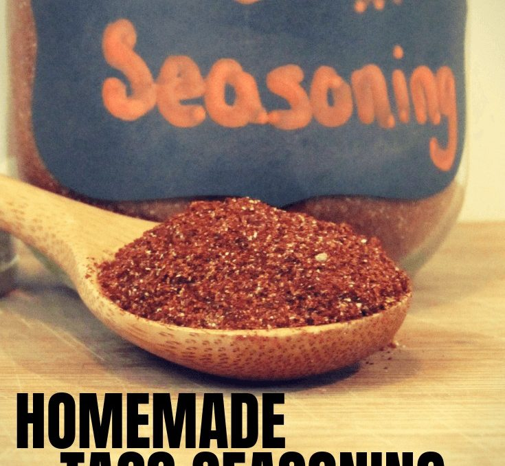 The reason we buy taco seasoning packets is that it's easy to just pour and make. I was a little frustrated with the recipes for taco seasoning for one meal. After I found this taco seasoning recipe in bulk my cupboard is always stocked! #foodpreservation #tacorecipe #driedgoods #pantrystaples #seasoningrecipes #achickandhergarden