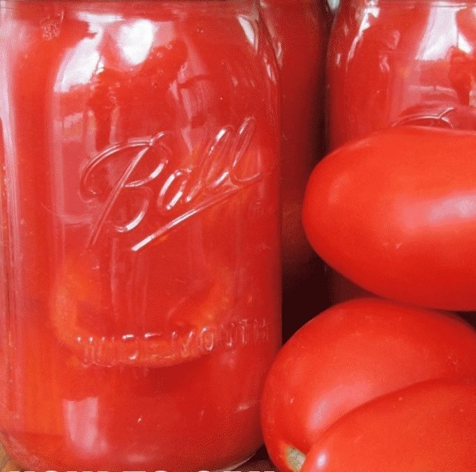 Not only does canning tomatoes at home save money, they make everything taste so much better! This step by step tutorial on how to can tomatoes is super easy to follow! I won't be buying canned tomatoes from the store anymore! #foodpreservation #canningathome #waterbathcanning #cannedtomatoes #homesteadpantryrecipes #canningrecipes #achickandhergarden