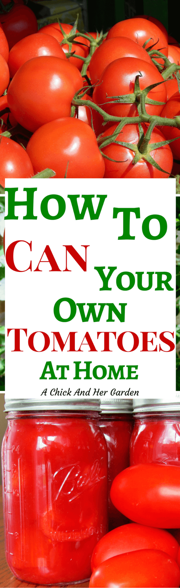 When we run out of canned tomatoes we have a problem! Want to know to know how to can tomatoes? Check it out here!