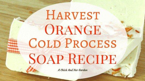 Harvest Orange Soap Recipe