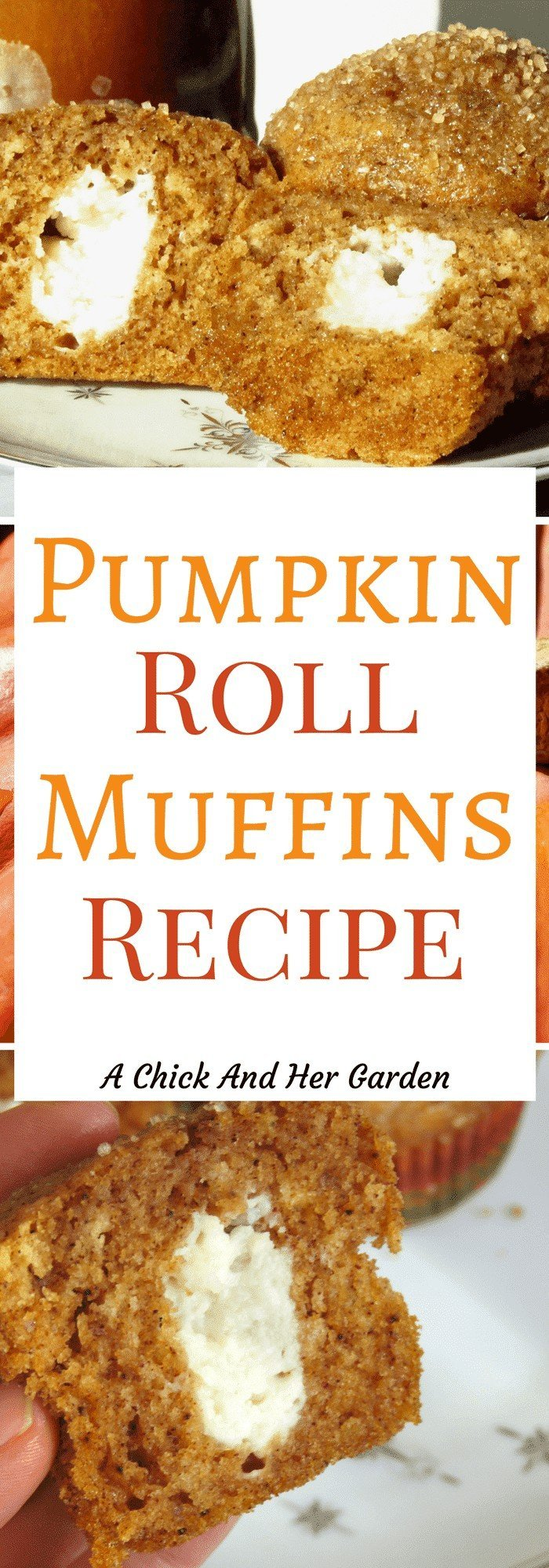 Do you love pumpkin rolls? How about so much that you need them for breakfast?! If so, you NEED to try this Pumpkin Roll Muffins recipe!