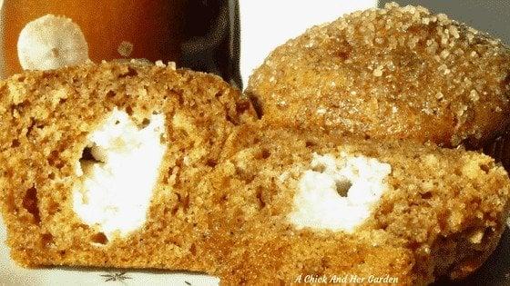 Pumpkin Roll Muffins Recipe
