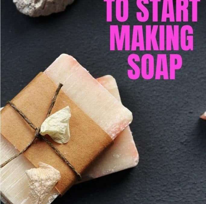 When I was searching for everything I would need to make soap I got overwhelmed really fast! Then I stumbled on this list and was ordering supplies and ready to go by the time I was finished! #coldprocesssoap #makingsoap #handmadesoap #makeyourownsoap #soapmakingforbeginners #soapsupplies #achickandhergarden