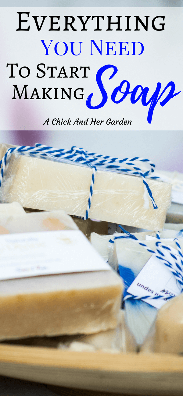 It can be so overwhelming when you want to start making your own cold process soap! This is the perfect list of supplies for a soap making beginner! #coldprocesssoap #soapmaking #naturalsoap #fromscratch #DIY #homesteading #naturalskincare