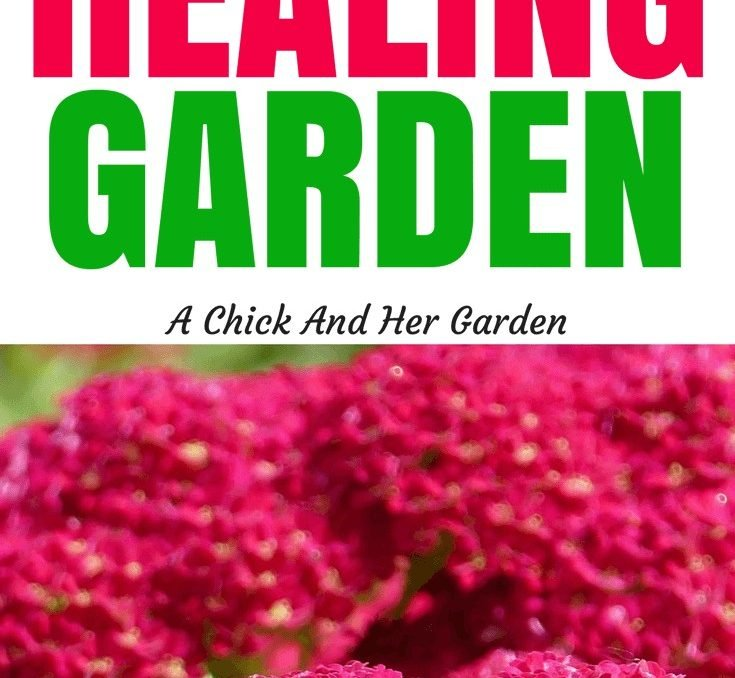 Healing gardens aren't just for aromatherapy! Check out these plant to add to yours, along with all their uses! #healinggarden #gardening #landscaping #permaculture #homesteading #selfsufficiency #achickandhergarden