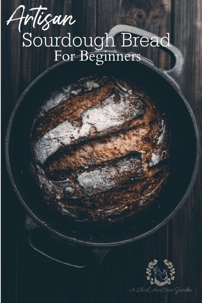 I was always afraid to make my own sourdough bread until I tried this recipe! Her step by step guide made it so easy and my bread turns out perfectly everytime! #sourdoughbread #breadrecipe #sourdoughrecipes #baking #achickandhergarden